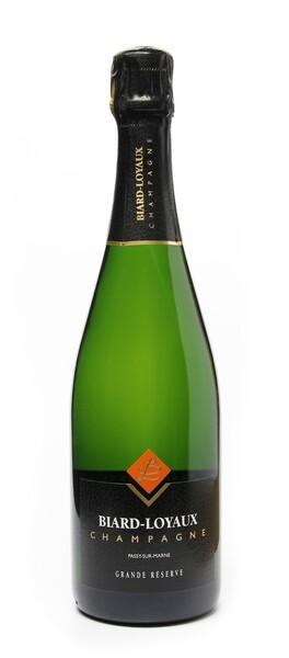 Champagne Biard-Loyaux - grande reserve - Blanc