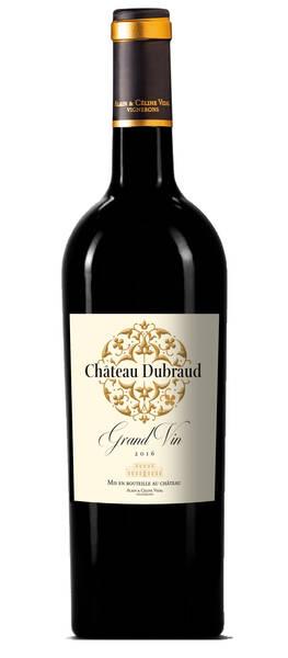 Château Dubraud     - grand vin de - Rouge - 2016