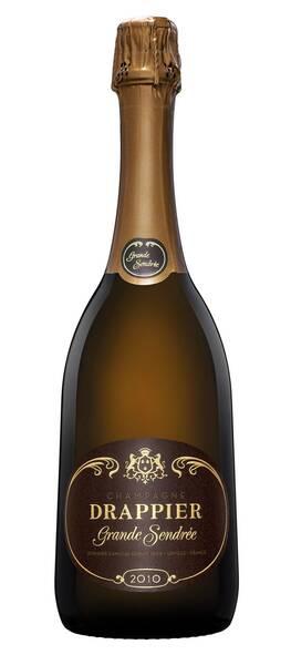 Champagne Drappier - grande sendrée - Pétillant - 2010