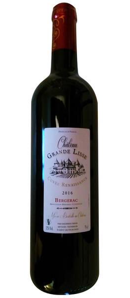 Château Grande Lisse - renaissance - Rouge - 2016
