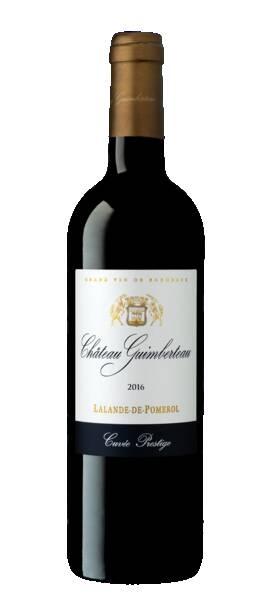 Château Guimberteau - cuvée prestige - Rouge - 2016