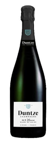 Champagne  Duntze - 100% meunier - blanc de noirs - Pétillant