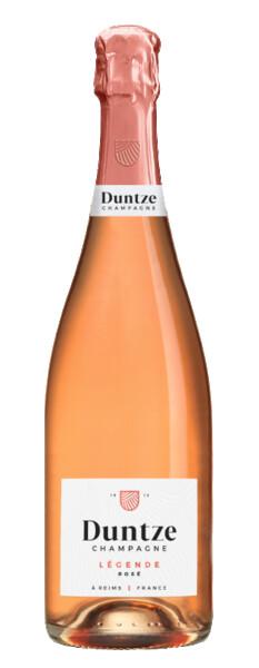 Champagne  Duntze - légende rosé - Pétillant