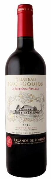 Château Haut-Goujon - la rose saint vincent de haut goujon - Rouge - 2015