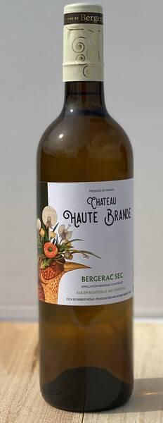 Château Haute Brande - bergerac sec - Blanc