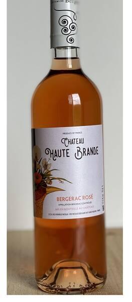 Château Haute Brande - bergerac - Rosé