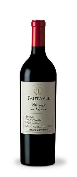 Château l'Hospitalet - tautavel hommage aux vignerons cotes du roussillon villages tautavel  gerard bertrand - Rouge - 2016