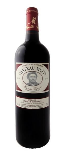 Vignobles Claude Modet et Fils - cuvée louis - château melin - Rouge - 2012