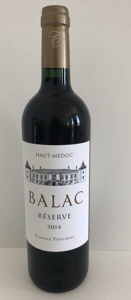 Château Balac - reserve - Rouge - 2014