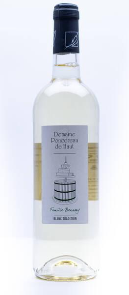 Domaine Poncereau de Haut - de tradition - Blanc - 2020
