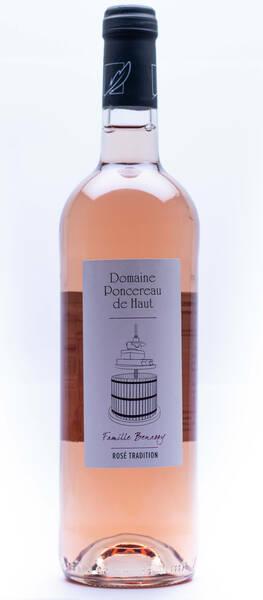 Domaine Poncereau de Haut - tradition - Rosé - 2019