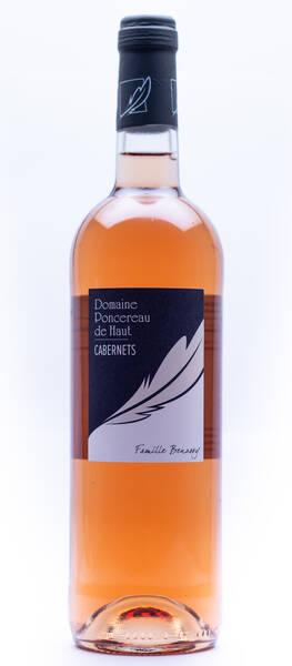 Domaine Poncereau de Haut - de cabernet - Rosé - 2020