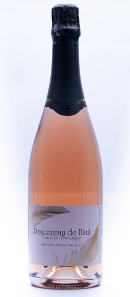 Domaine Poncereau de Haut - méthode traditionnelle rosé - Pétillant