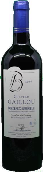 Vignobles Bedrenne - château gaillou - Rouge - 2016