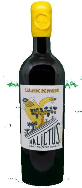 Vignobles Bedrenne - cuvée halictus - Rouge - 2018