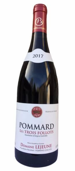 Domaine Lejeune - pommard les 3 follots - Rouge - 2018