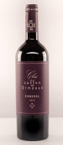 Château de Bel / Vins Olivier cazenave - clos du canton des ormeaux - Rouge - 2014