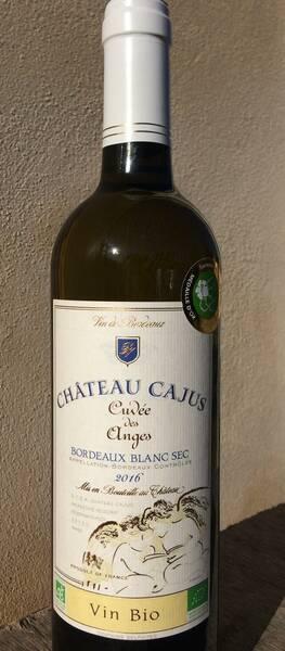 Château Cajus - Cuvée des Anges Blanc BIO