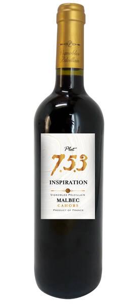 Vignobles Pelvillain                                                                                                - inspiration 7.5.3 - malbec - cahors - Rouge - 2014
