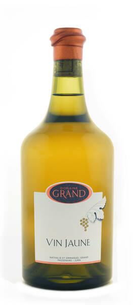 Domaine Grand - vin jaune côtes du jura - Blanc - 2012