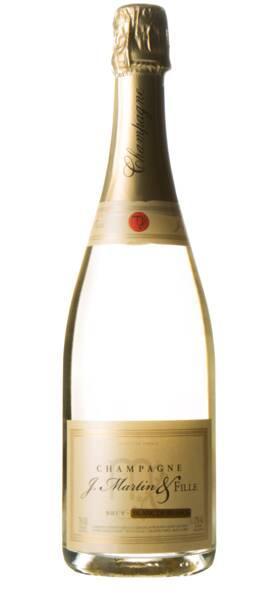 Champagne J. Martin & Fille - brut blanc de blancs - Pétillant