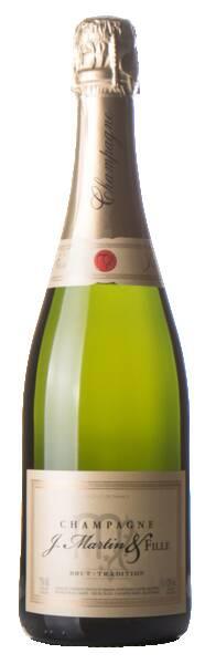 Champagne J. Martin & Fille - brut tradition - Pétillant