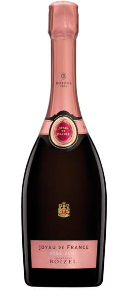Champagne Boizel - joyau de france - Rosé - 2007