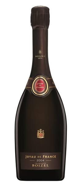 Champagne Boizel - joyau de france - Blanc - 2004