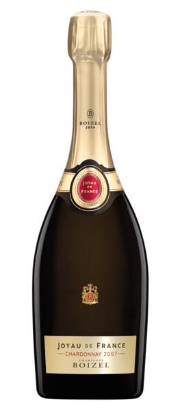 Champagne Boizel - joyau de france chardonnay - Blanc - 2007