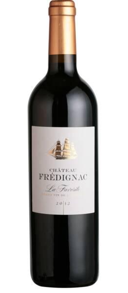 Chateau Frédignac - la favorite - Rouge - 2014