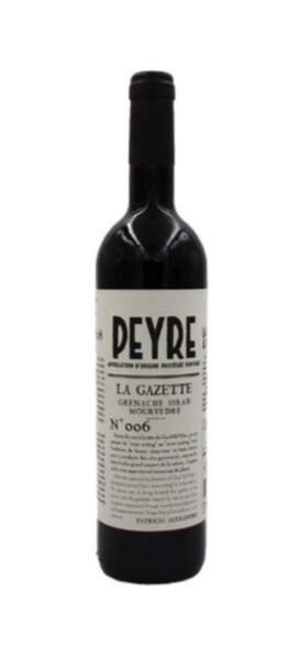 Domaine des Peyre - la gazette - Rouge - 2018