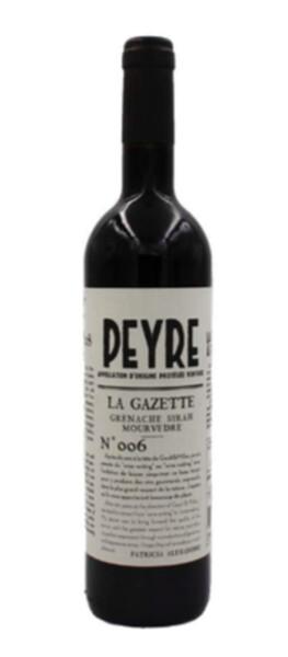 Domaine des Peyre - la gazette - Rouge - 2019
