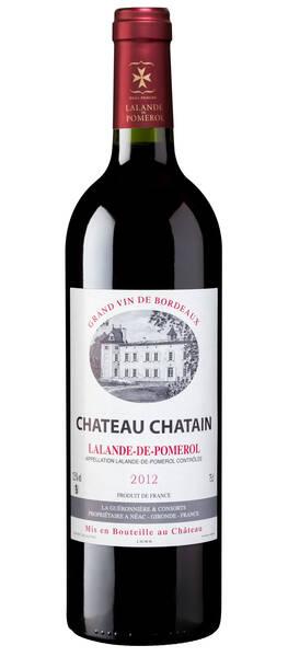 Château Chatain - château chatain 2012 - Rouge - 2012