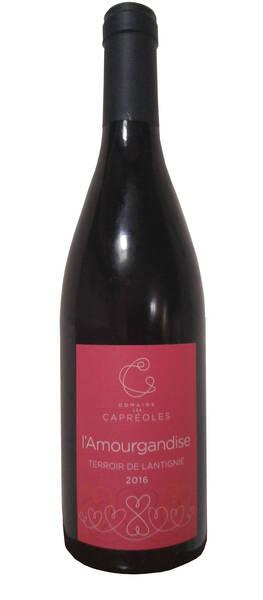 Domaine Les Capréoles - l'amourgandise - Rouge - 2020