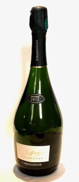 Champagne JOFFREY - l'apothéose - Pétillant - 2012
