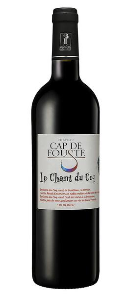 CHATEAU CAP DE FOUSTE - chant du coq - Rouge - 2020