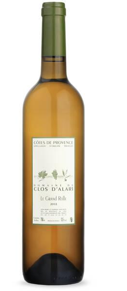 Domaine du Clos d'Alari - le grand rolle - Blanc - 2018