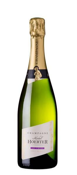Champagne Michel Hoerter - les 2 muses - blanc de noirs - Pétillant