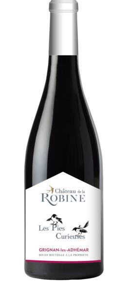 Château de la Robine - les pies curieuses - Rouge - 2018