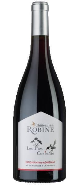 Château de la Robine - les pies curieuses - Rouge - 2019