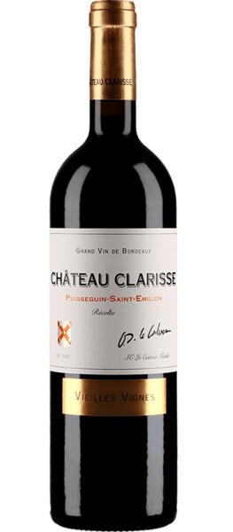 Château Clarisse  - puisseguin saint-emilion vieilles vignes - Rouge - 2016