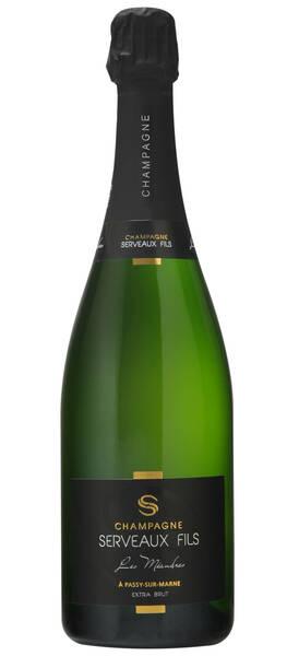 Champagne Serveaux Fils - les méandres - Blanc