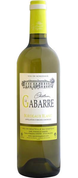 EARL VIGNOBLES GABARD - Château La Gabarre - Blanc - 2019