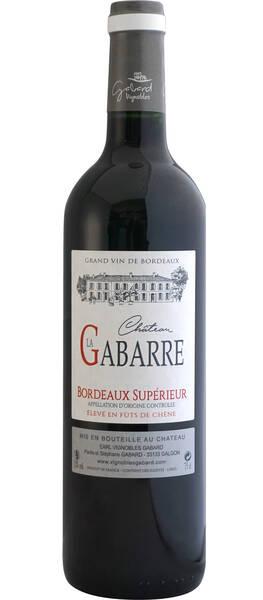 Vignobles GABARD EARL - château la gabarre (fût de chêne) - Rouge - 2016