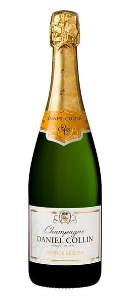Champagne Daniel Collin - grande réserve, brut - Pétillant