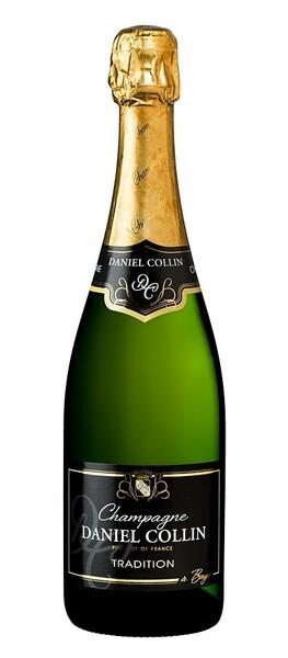 Champagne Daniel Collin - demi sec - Pétillant