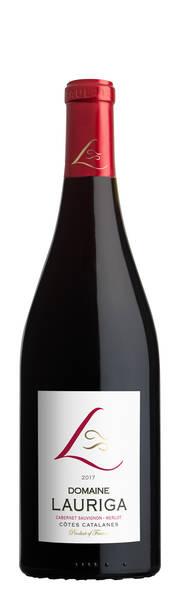Domaine Lauriga - merlot / cabernet - Rouge - 2017