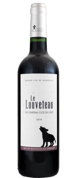 Vignobles Bouillac - le louveteau du château clos du loup - Rouge - 2010