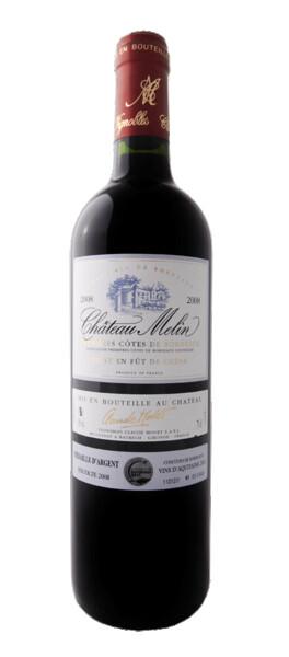 Vignobles Claude Modet et Fils - château melin - Rouge - 2008