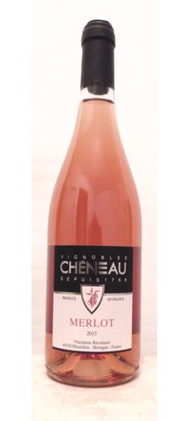 Vignobles Chéneau - merlot - Rosé - 2018